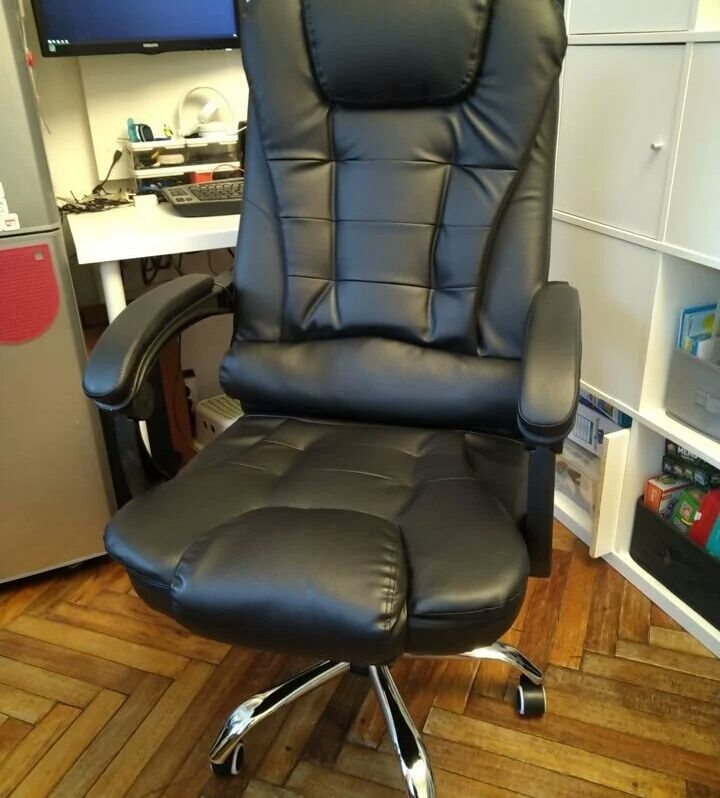Кресло компьютерное с массажем состояние нового
