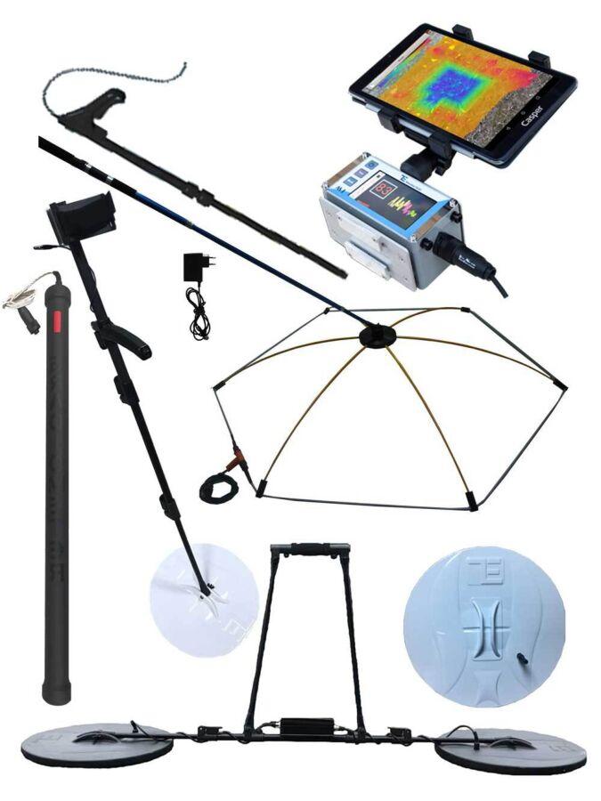 Георадар EMF сканер земли с выводом изображения 3Д, на телефон планшет