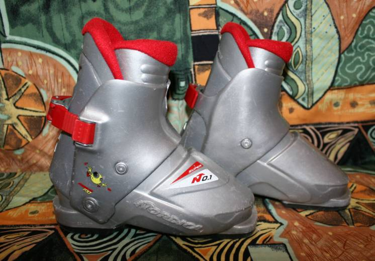 Лыжные ботинки Nordica 0.1 super подростковые 18 см