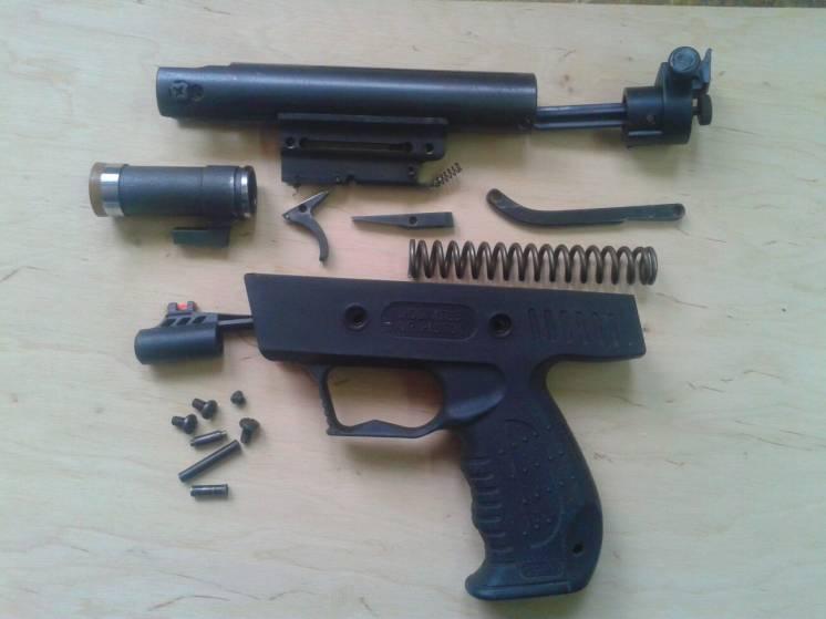 Запчасти к пневматическому пистолету XTS3