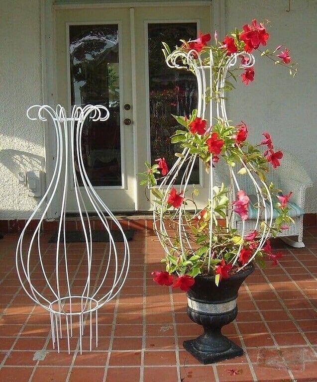 Опора для цветов вазон зонтик