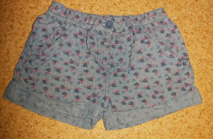 Шорты под джинс 6-7 лет.