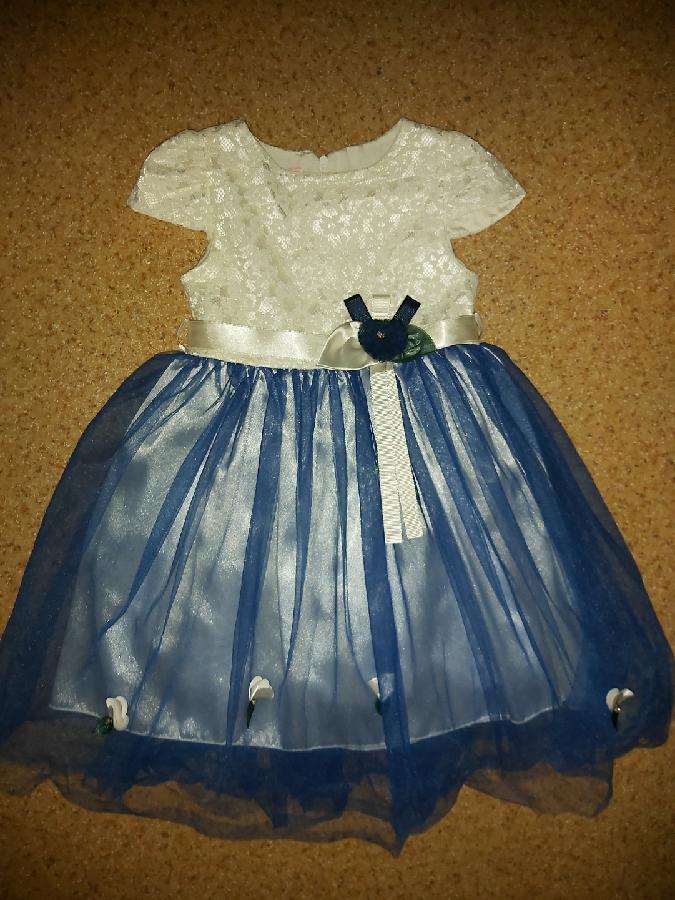 Нарядное платье 6 лет.