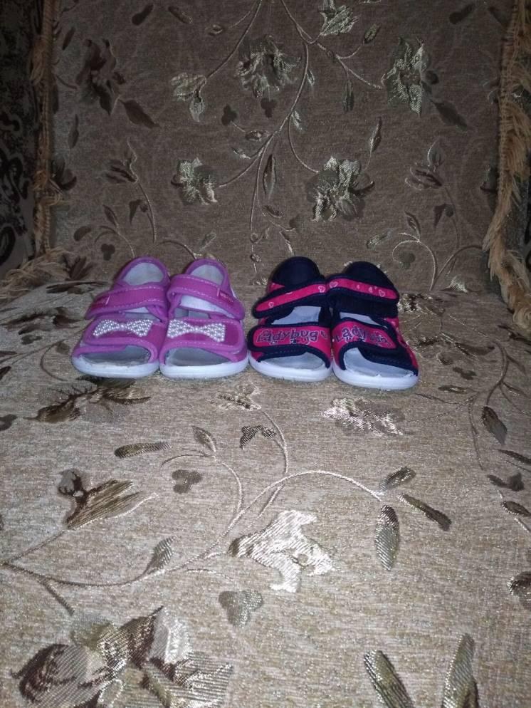 Продам босоніжки для дівчинки