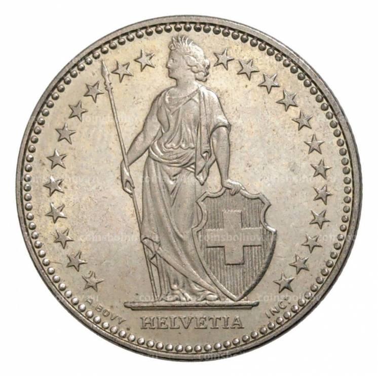Швейцария 1 франк, 1983