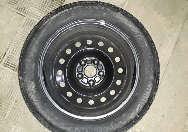 Запаска Toyota Camry, Corolla, Auris. 205/55 R16 5x114, 6.5J