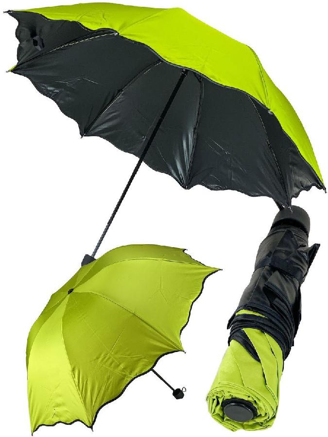 Зонт с проявляющимся рисунком