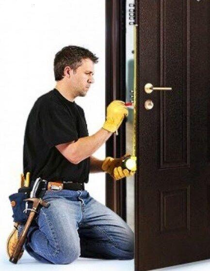 Установка дверей (без посредников) услуги установщика