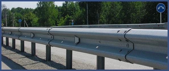 Дорожное барьерное ограждение 11 ДО-2 (4мм) горячее цинкование