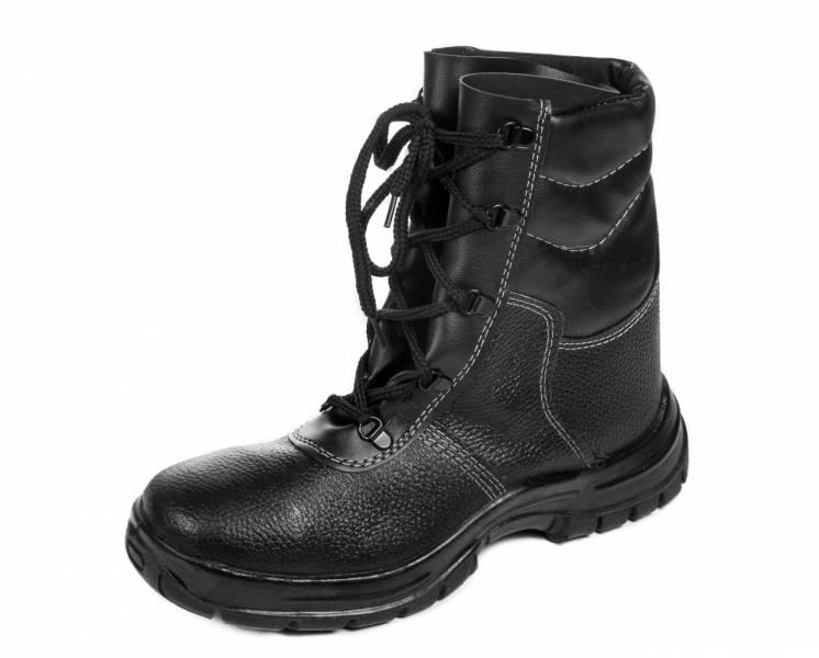 Литьевые ботинки Омон, с высокими берцами