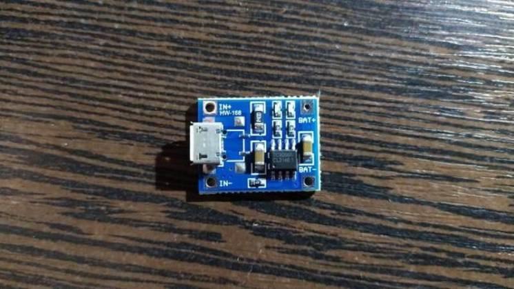 Модуль зарядки Tp4056
