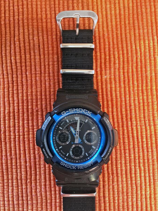 Часы Casio AW-591