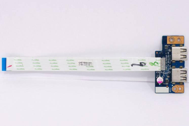 Плата USB Acer Aspire E1-510 E1-530 E1-532 E1-570 NBX0001BH00 LS-9532P