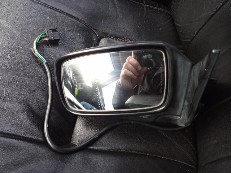Зеркало левое Вольво 940, 740