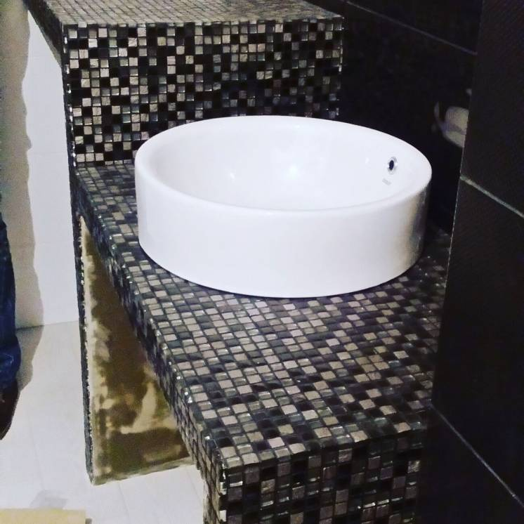 Ремонт ванной комнаты!