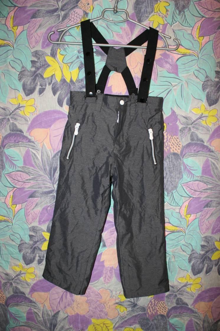 Штаны с лямками Zara boys 110 см,4-5 лет