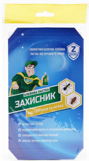Клеевая ловушка для тараканов и муравьев Защитник Укравит