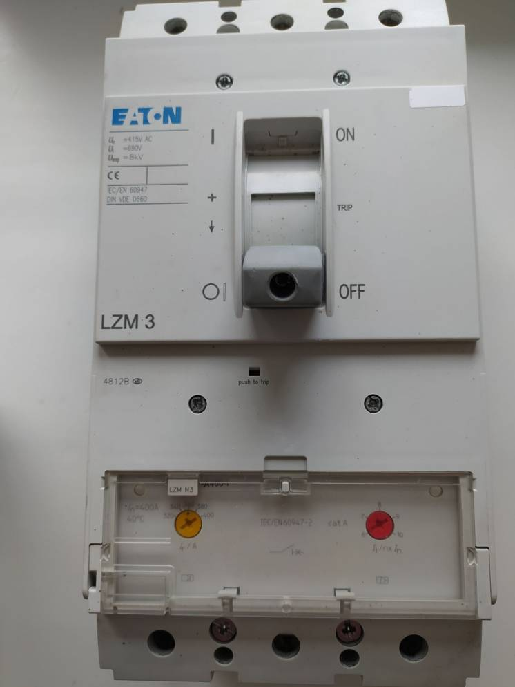 Автоматический выключатель EATON LZMN3-A320-I