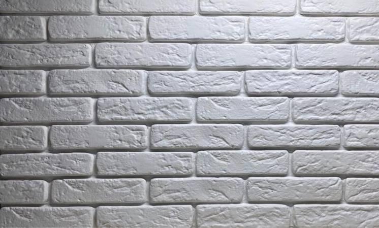 Декоративная гипсовая плитка «Римский кирпич «
