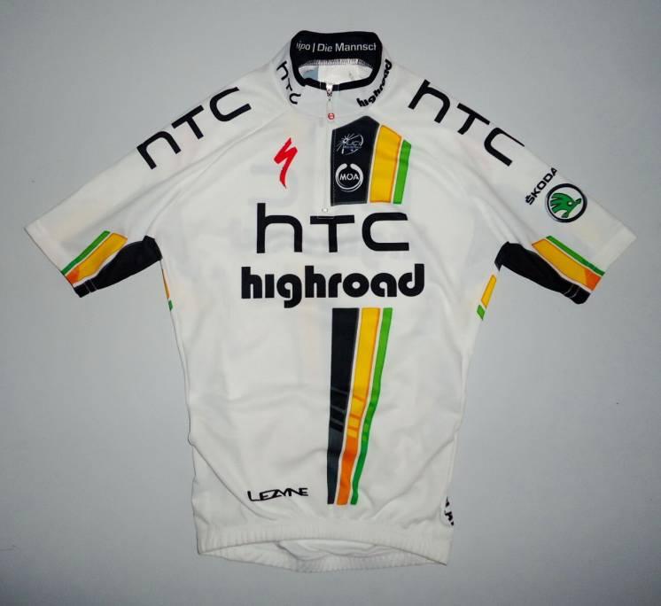 велофутболка велоформа Moa HTC Highroad Team Jersey (10лет)