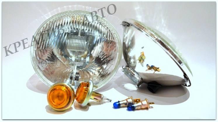 Фары Нива 2121,ваз 2101,заз 968,москвич 412,волга 2410 с габаритом