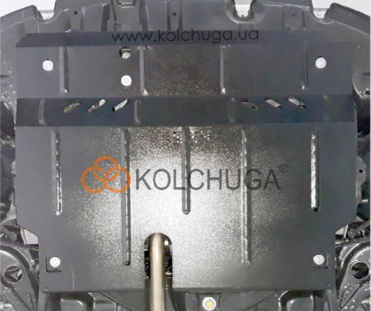 Защита двигателя Toyota Yaris 2019-  Кольчуга