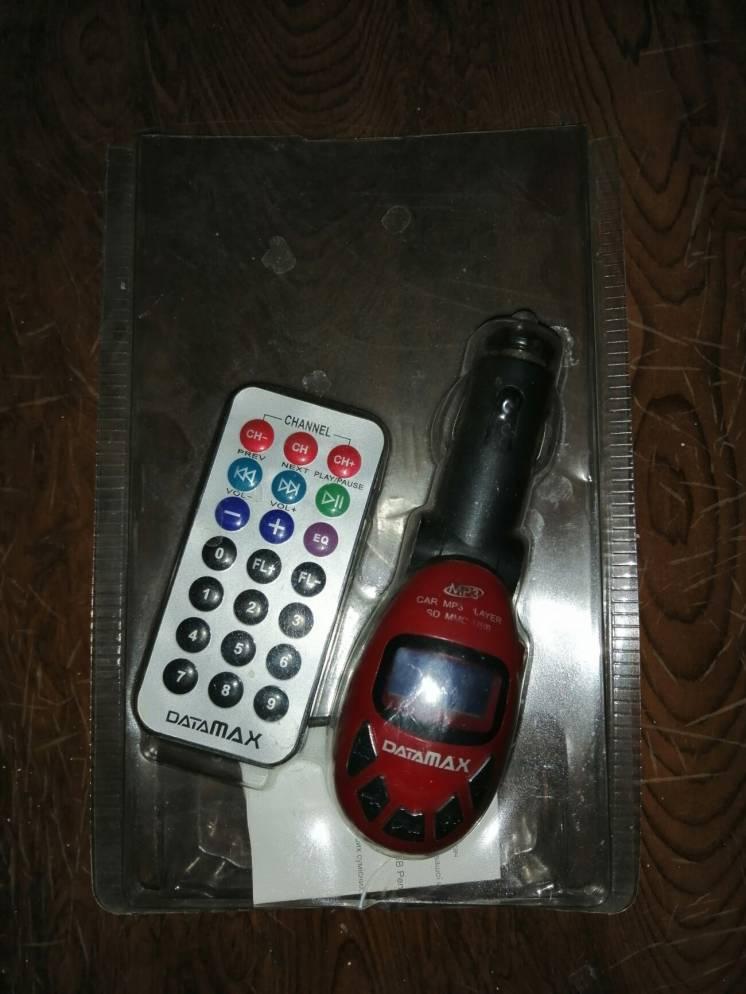 FM-трансмиттер (FM передатчик) mp3 player DataMAX