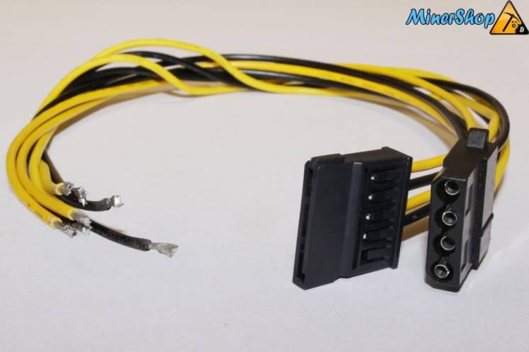 Коннектор sata molex с кабелем для производства блоков питания