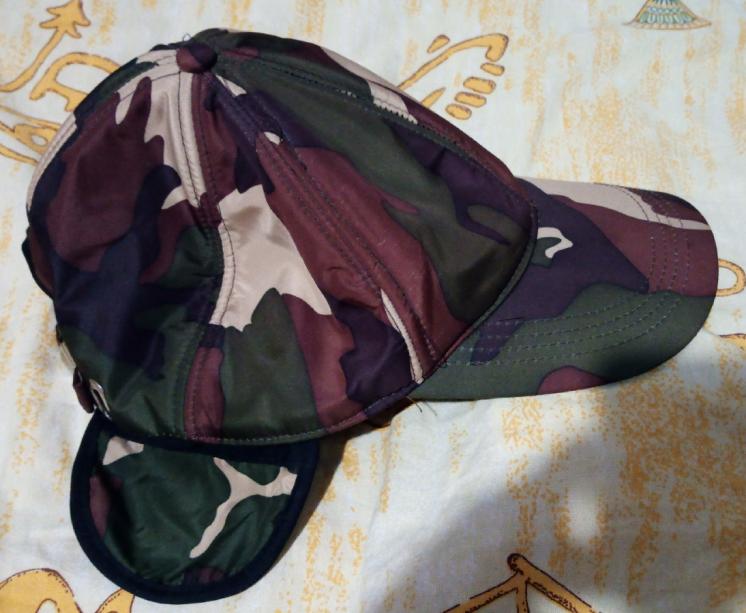 Новая кепка с ушками и с утеплением высылаю по Украине