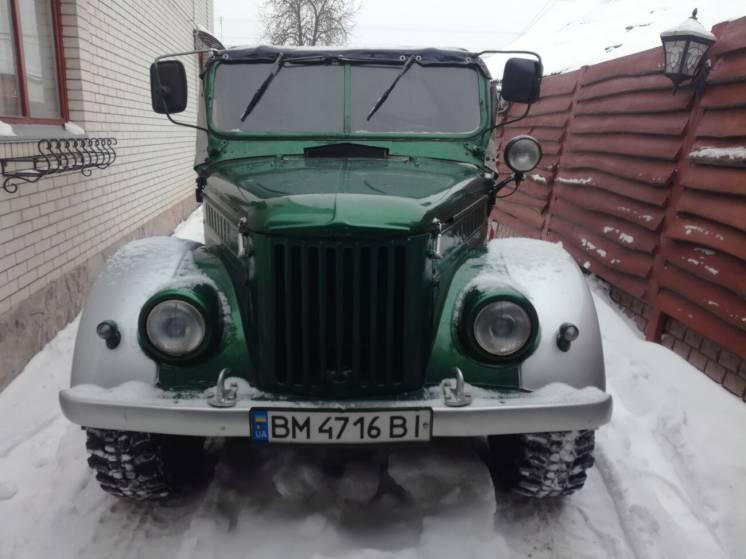 Продам ГАЗ 69 фаэтон-В оригинал с минимальным пробегом