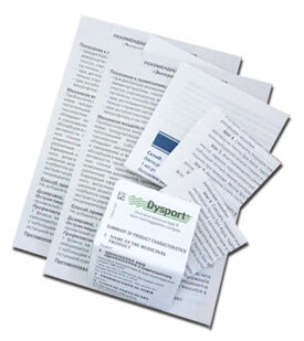 печать инструкций медицинских, технических на тонкой бумаге 45 г