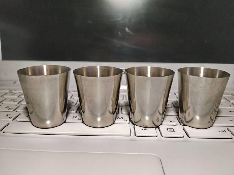 Рюмка, стаканчик, стакан, чарочка 30 мл для фляги. Нержавейка