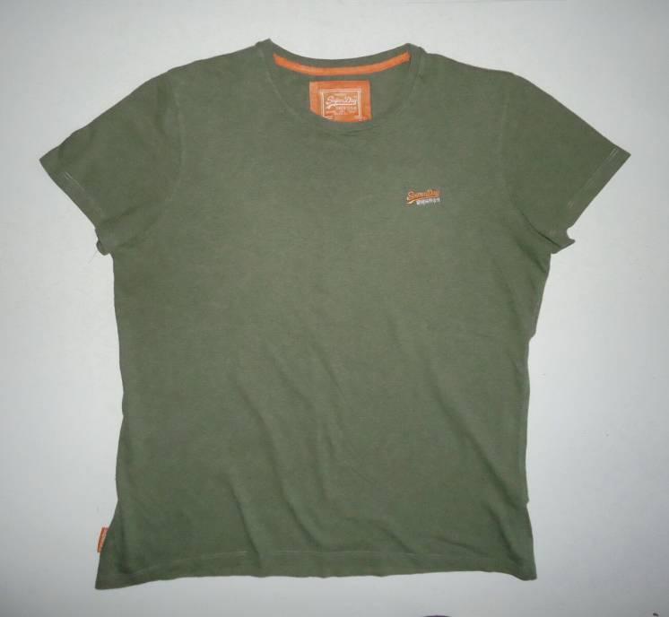 футболка  Superdry Vintage Orange Cotton размер (XXL)