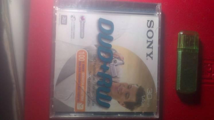 продам DVD-RW SONY 30 min., 1,4 GB