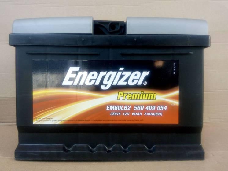 Акумулятор 60 Ач Energizer Premium
