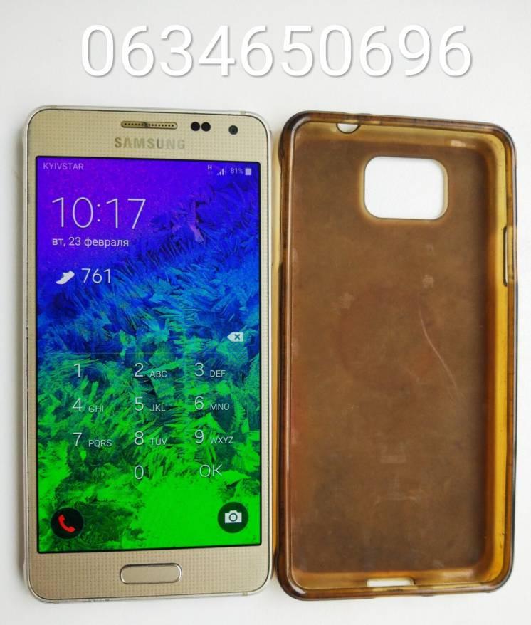 Samsung Galaxy Alpha SM-G850F 32Gb Gold