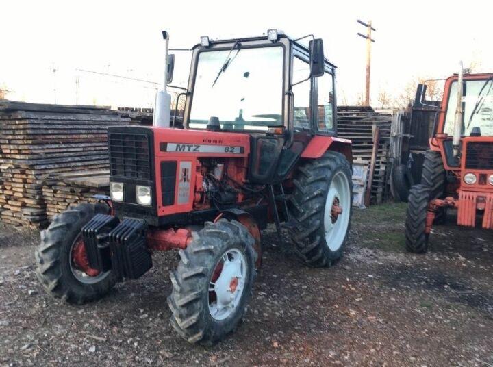 Трактор Єкспортний МТЗ 82