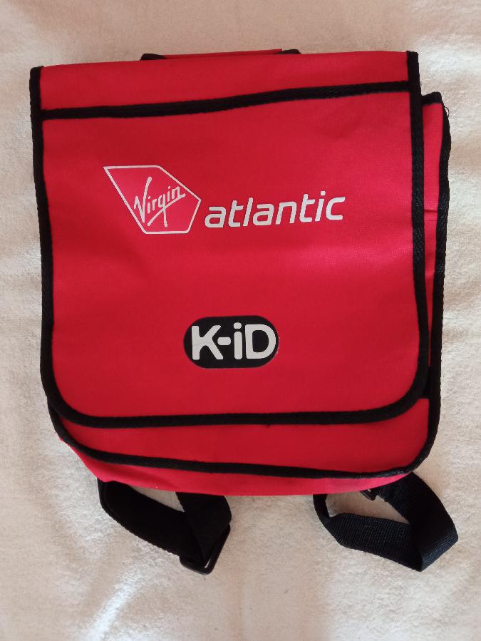 Портфель красный Atlantic