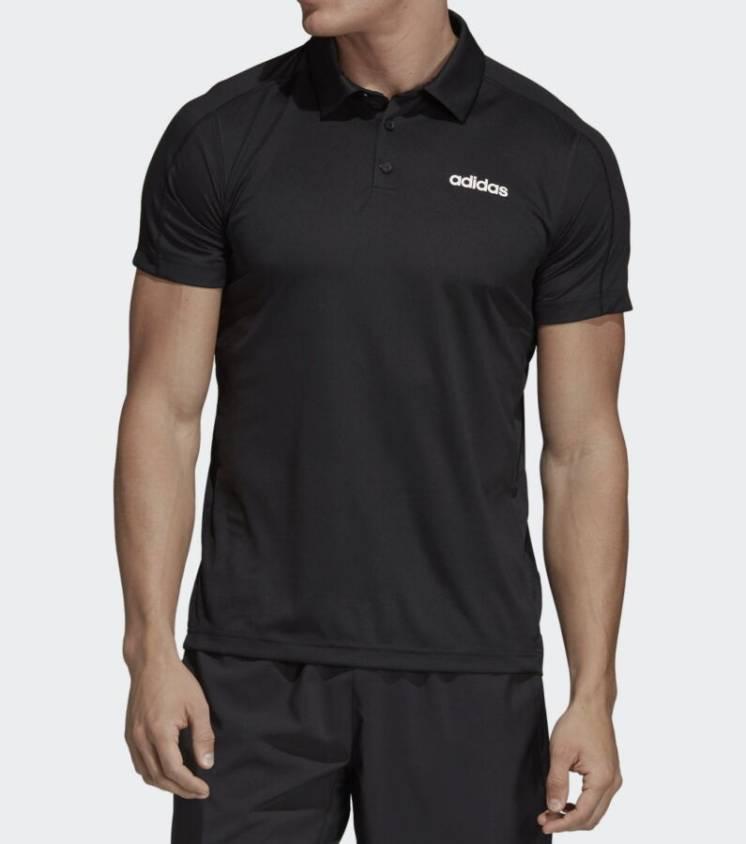 футболка  adidas D2M Climacool Polo 2019 г (M)