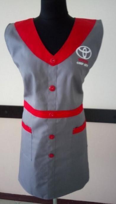 Фартук-накидка для уборщиц продавцов пошив под заказ
