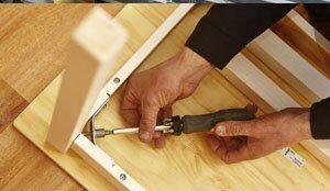 Складання корпусних меблів на дому