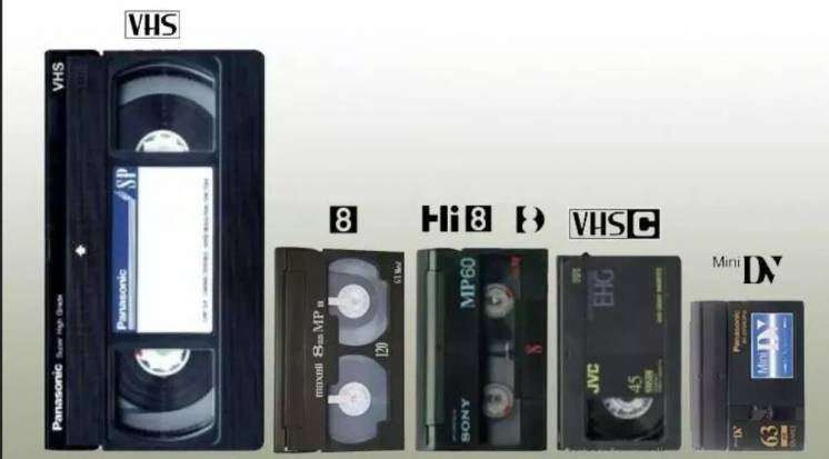 Оцифровка видеокассет от 30 грн/час