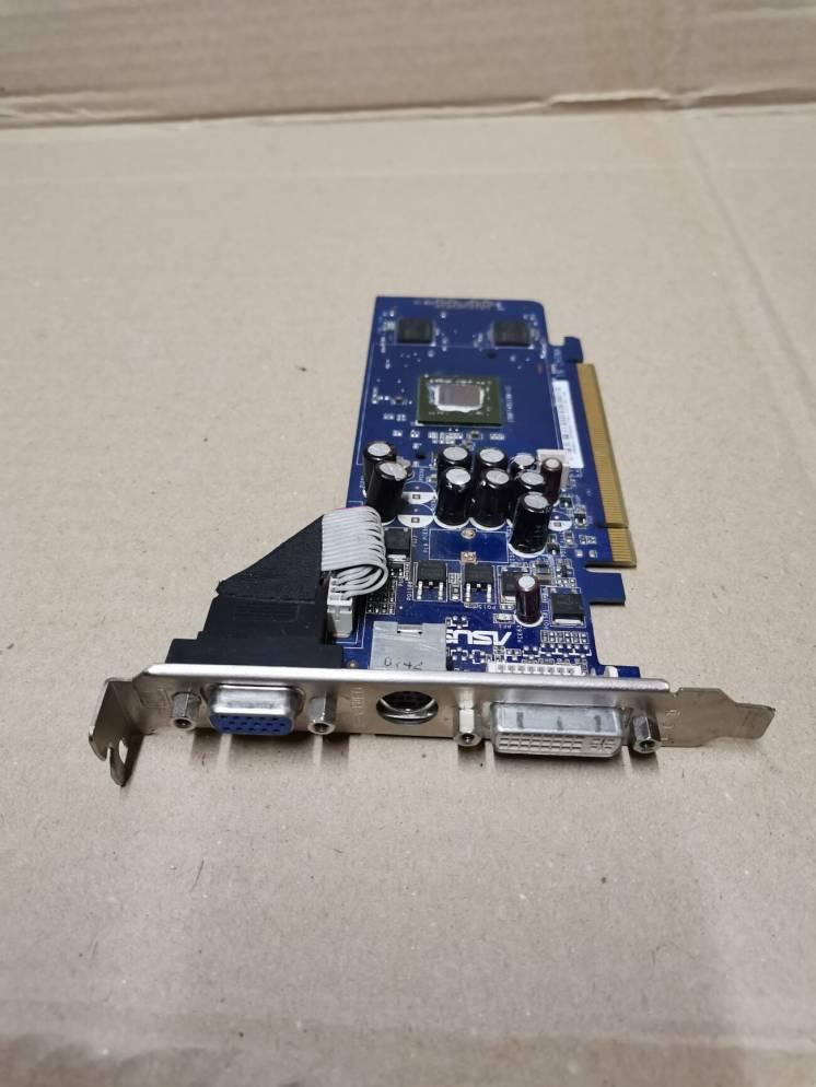 Видеокарта Agp Asus Geforce En8400gs 256mb