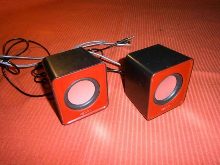 Колонки USB активные Gemix mini пара