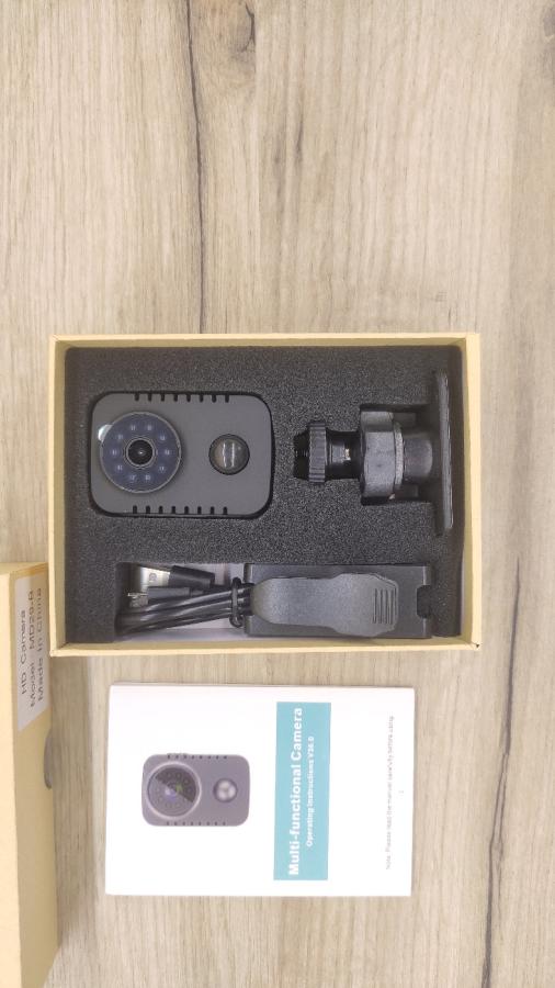Мини камера видеонаблюдения MD29 с датчиком движения и ночной съёмкой