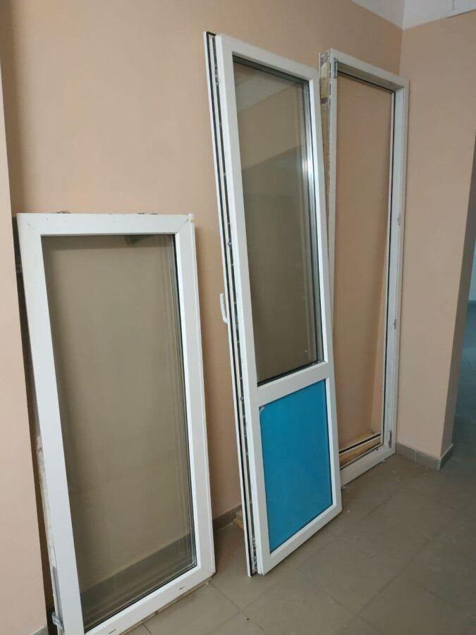 двері на балкон + вікно