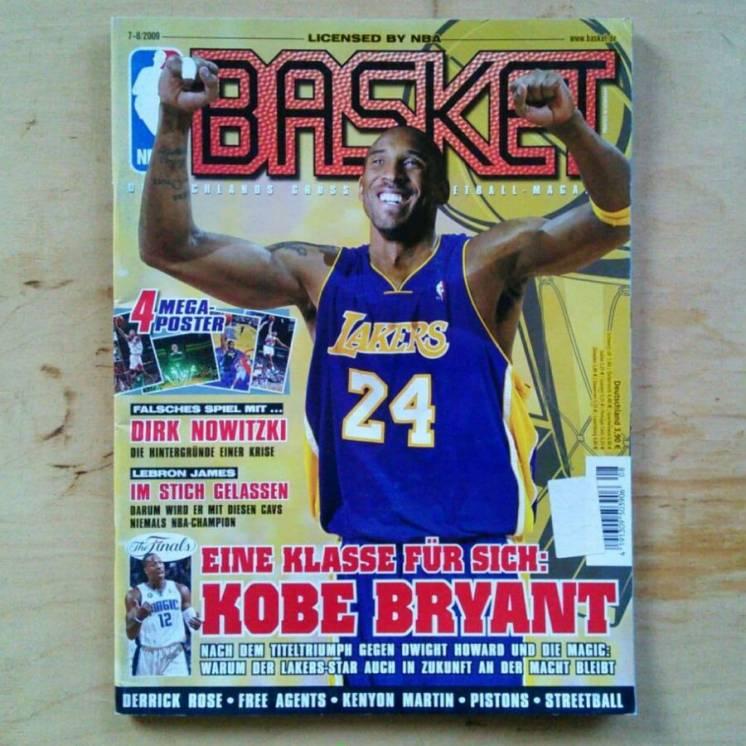 Журналы BASKET 2008-15, журнал - баскетбол НБА, Кобе Брайант, Лейкерс