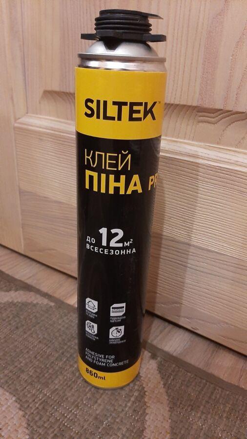 Клей пена Siltek профессиональная