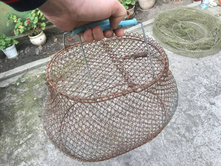 Рыболовная корзина