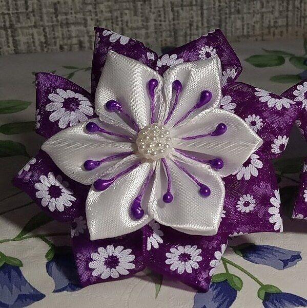 Резинки для волос handmade бантики детские украшения для волос для дев